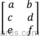 Maths Formulas for ICSE Class 10 Matrices