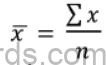 Maths Formulas for ICSE Class 10 Statistics